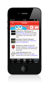 event app Twitter client