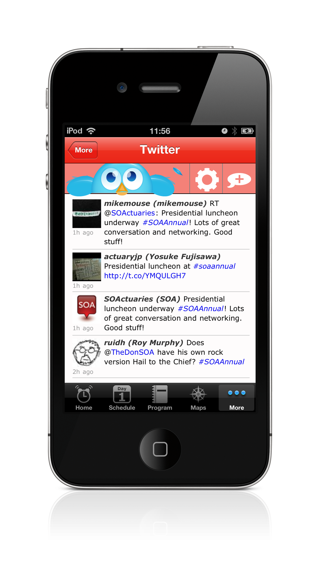 EventPilot Conference App Twitter Client