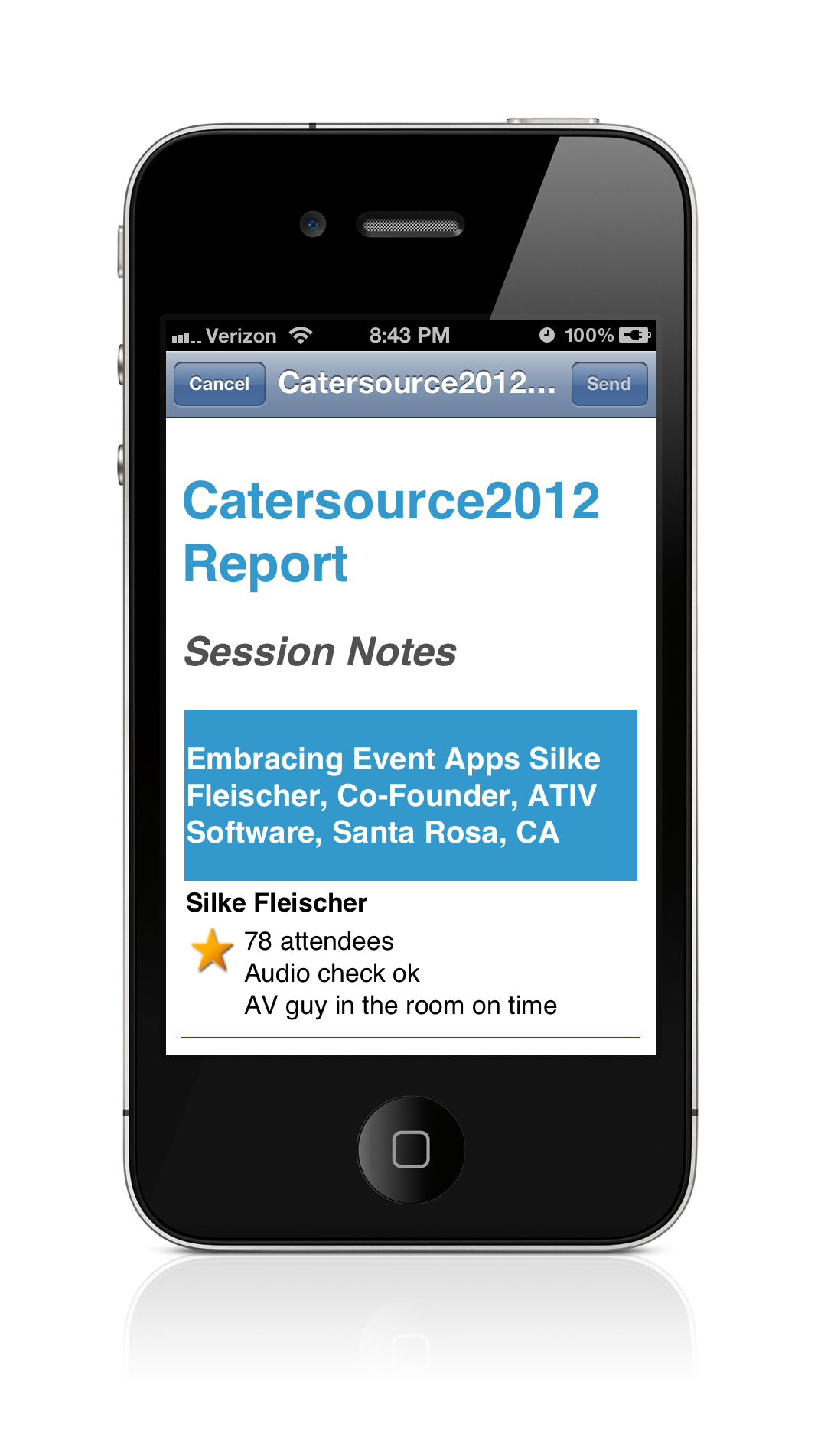 iPhone-emailReport