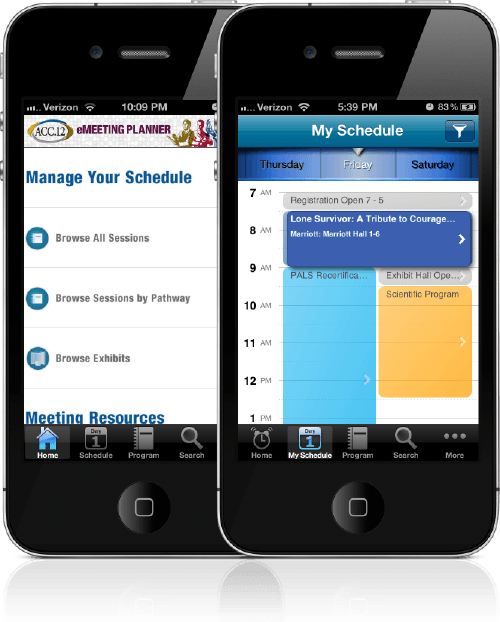 conference app schedule