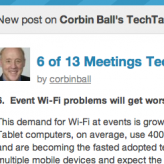 Predictions for 2013: Event Wi-Fi problems will get worse before getting better.