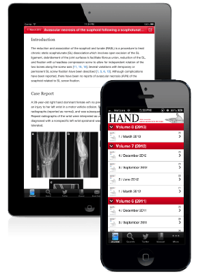 EventPilot mobile app journal for medical and scientific journals and magazines