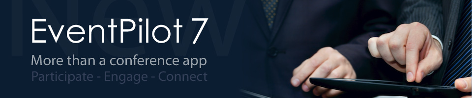 new conference app features with EventPilot 7.0