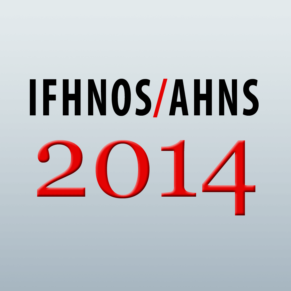 event app for IFHNOS AHNS 2014