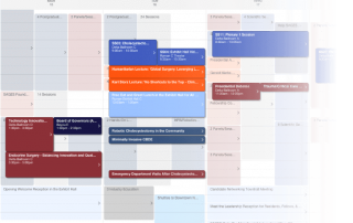 Visual Schedule view