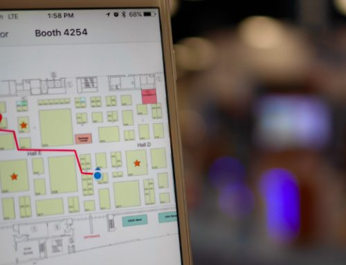 Positioning and Routing like Google Maps for Events – but Indoors?