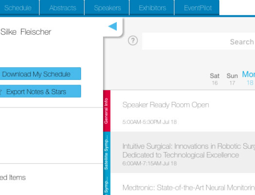 Scientific Meeting Online Planner – New Look and New Features
